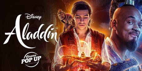 Cinema Pop Up - Aladdin - Hastings tickets