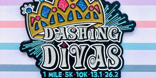 The Dashing Divas 1 Mile, 5K, 10K, 13.1, 26.2 - Springfield