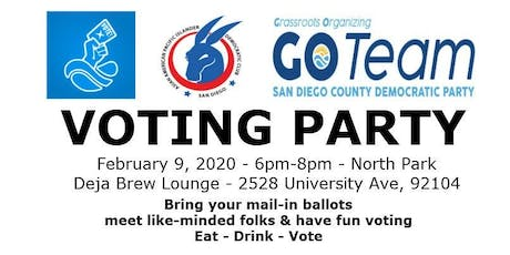 AAPI Democratic Club - Voting Party tickets