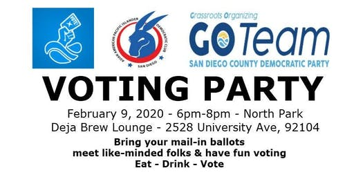 AAPI Democratic Club - Voting Party