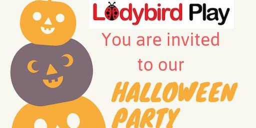 Ladybird Halloween Party