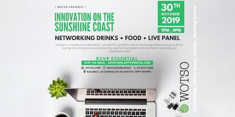 WOTSO Presents: 'Innovation on the Sunshine Coast' tickets