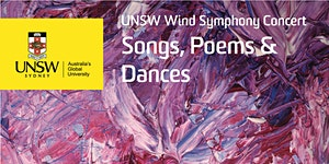 UNSW Wind Symphony Concert: Songs, Poems & Dances