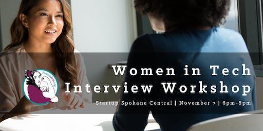 Women in Tech Interview Workshop