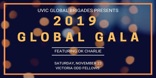 Global Gala 2019 featuring OK Charlie