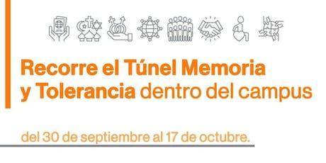 Tour Guiado Túnel Memoria y Tolerancia - 15Octubre 10:55 - 11:40 entradas