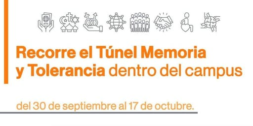 Tour Guiado Túnel Memoria y Tolerancia - 15Octubre 10:15 - 11:00
