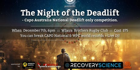 The Night of the Deadlift tickets