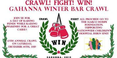 CRAWL!  FIGHT!  WIN!  Annual Winter Gahanna Bar Crawl!