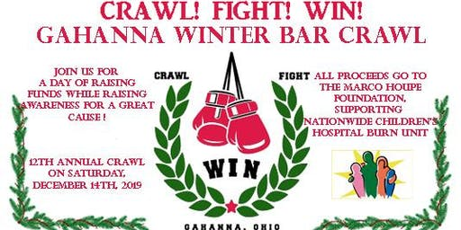 CRAWL!  FIGHT!  WIN!  Annual Winter Gahanna Bar Crawl!