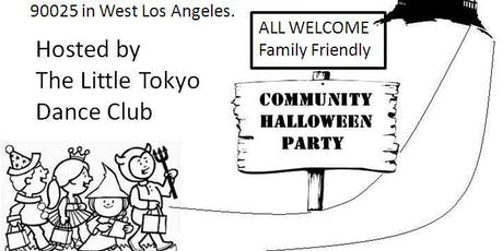 Sawtelle Japantown Cultural Community Halloween Ondo Costume Party tickets