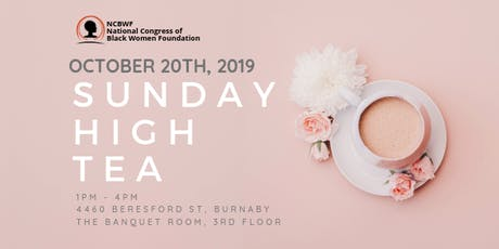 Sunday High Tea 2019 - Presented by The NCBWF tickets