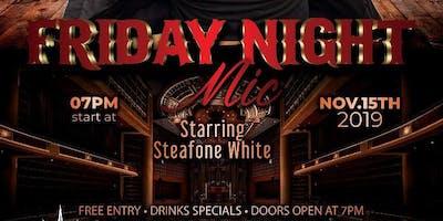 Steafone White @Port City