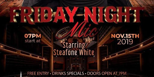 Steafone White @Port City