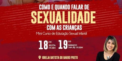 Mini Curso Como e Quando falar de sexualidade com as crianças