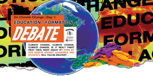 Debate on Climate Change | Day 1: Education & Formation