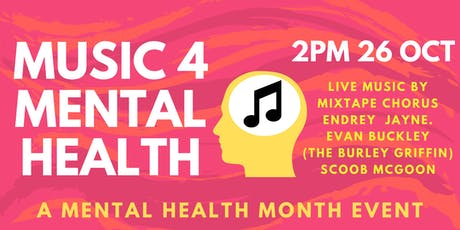 Music 4 Mental Health: a Mental Health Month event tickets