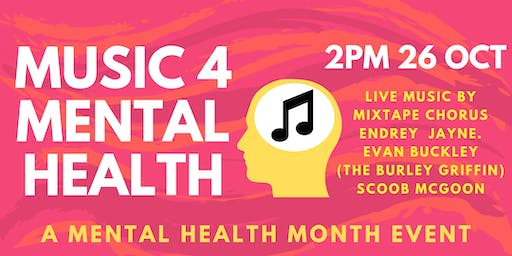 Music 4 Mental Health: a Mental Health Month event