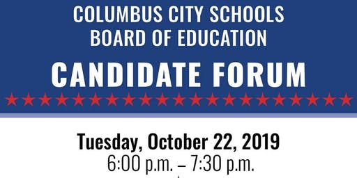 CCS Board of Education Candidate Forum