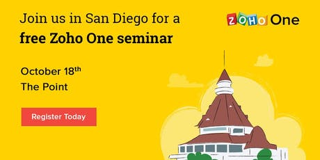 Zoho's Free Optimize Your Business Seminar - Free! tickets