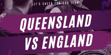 Wheelchair Rugby League - Queensland vs England tickets
