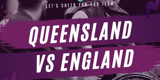 Wheelchair Rugby League - Queensland vs England