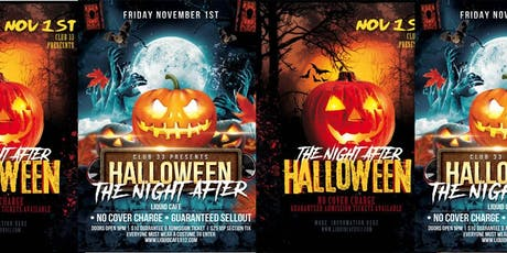 The Night After Halloween tickets