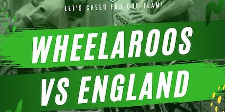 Wheelchair Rugby League - Australia v England Test Match 1 tickets