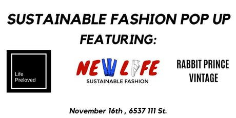 Sustainable Fashion, Vintage Clothing Pop Up tickets