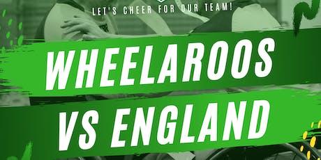Wheelchair Rugby League - Australia v England Test Match 2 tickets