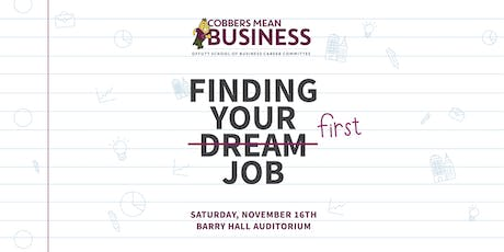 Finding Your First Job tickets