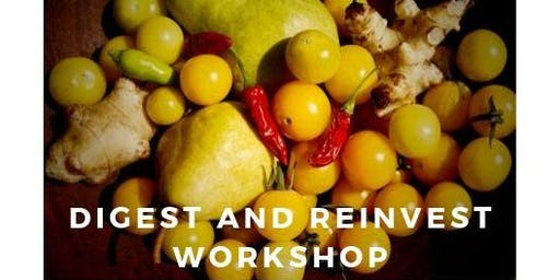 "Yoga and Reiki ""Digest and Reinvest"" Workshop"