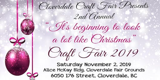 """CRAFT FAIR """"It's Beginning to Look A Lot Like Christmas"""" 2nd Annual"""