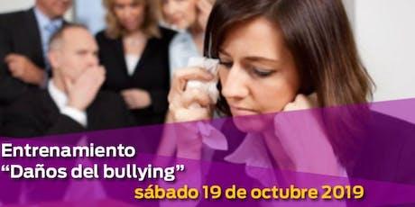 Los daños del bullying tickets