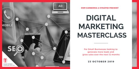 Digital Marketing Masterclass in Canberra tickets