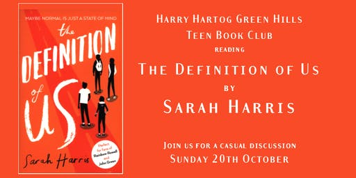 Teen Book Club - Definition of Us