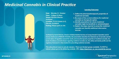 Medicinal Cannabis in Clinical Practice tickets