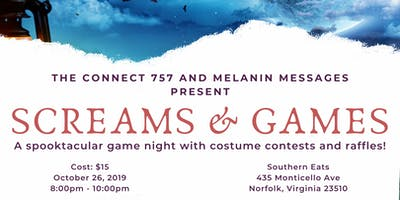 Screams & Games - Halloween Game Night