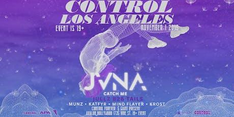 Control Presents: JVNA tickets