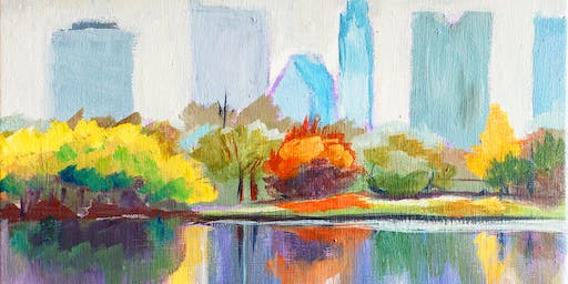 Colors of Columbus: Cityscape Painting Class