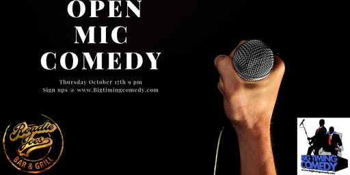 Open Mic Comedy!