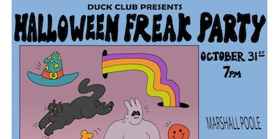 HALLOWEEN FREAK PARTY w/ Marshall Poole + The Love Bunch + more