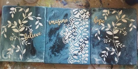 Mixed Media For Beginners - Be Inspired! Be You! tickets