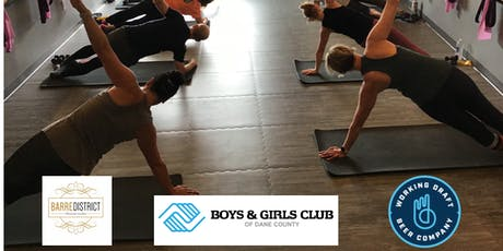 Barre and Beer for Boys and Girls Club of Dane County tickets