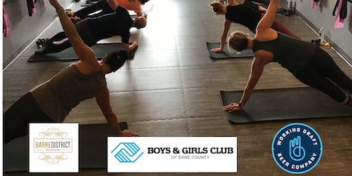 Barre and Beer for Boys and Girls Club of Dane County