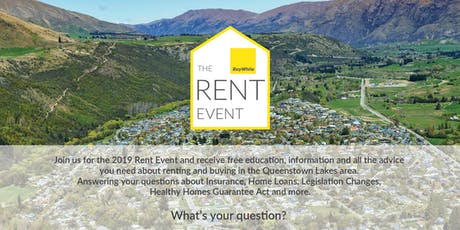 The Rent Event with Ray White Arrowtown tickets