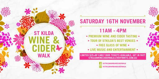StKilda Wine & Cider Walk