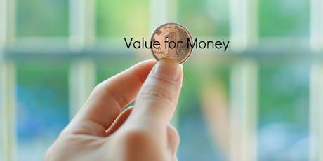 Value for Money Masterclass tickets