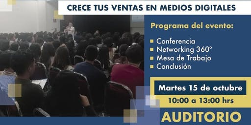 CRECE TU NEGOCIO EN MEDIOS DIGITALES