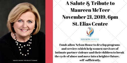 A Salute & Tribute to Maureen McTeer